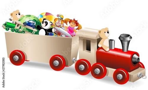 pociag-z-zabawkami-train-toys-vector