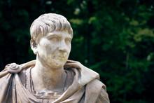 Trajan Portrait - Bust Of  Rom...