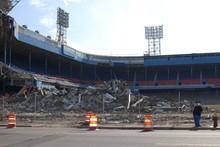 Detroit Tiger Stadium Demolition