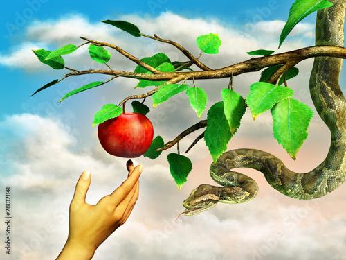 Valokuva Apple temptation