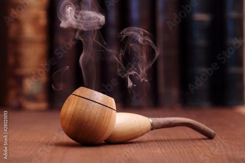 Fotomural Smoking Tobacco Pipe