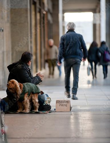 Photo  beggar