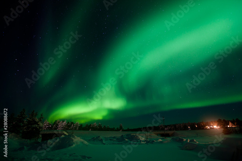 Aurora Borealis / Northern Lights Poster