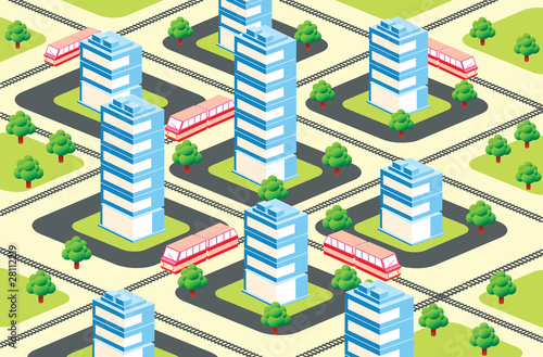 Foto op Plexiglas Op straat urban area