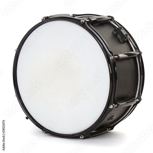 Foto drum isolated on white background