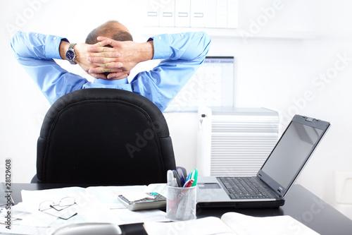 Fotografie, Obraz  Businessman relaxation