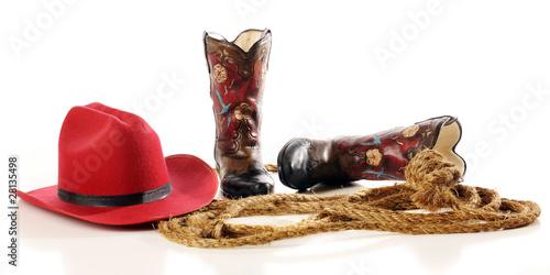 Fotografia, Obraz  Cowboy Gear