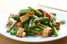 Spicy Tofu And Green Beans