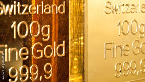 Poster Chicago Gold Ingots
