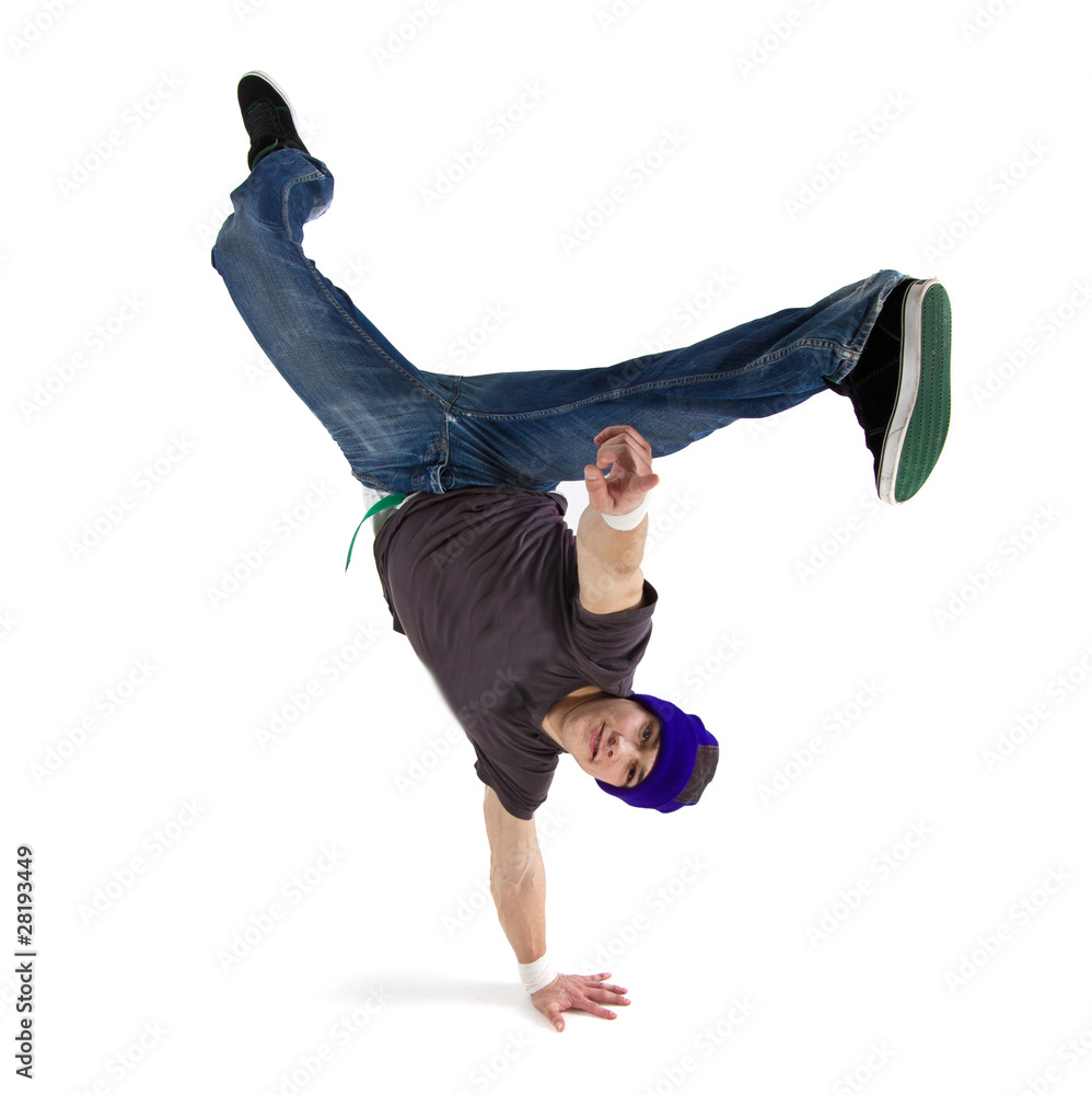Photo & Art Print Cool dancer showing his skills | EuroPosters