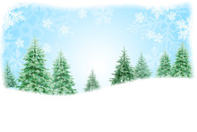 Christmas Nature Background De...