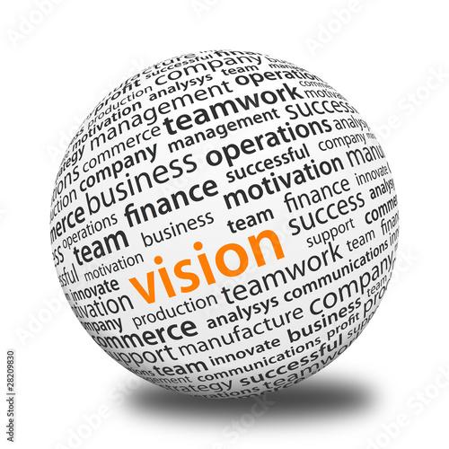 Fotografía  Word Ball - Vision