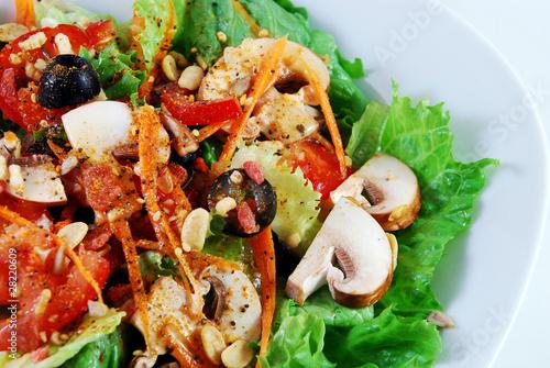 Fotografie, Obraz  Tossed,garden salad