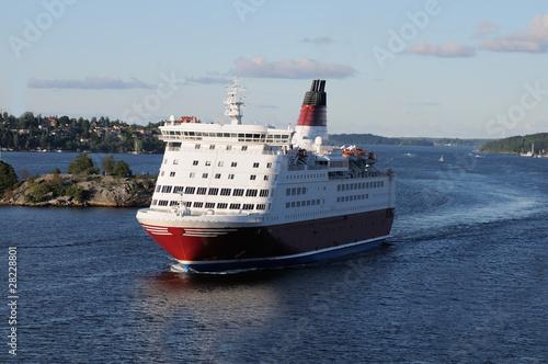 Slika na platnu Ferry boat
