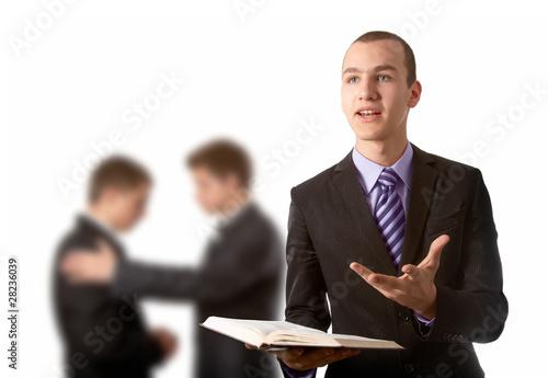 Obraz na plátně Preaching the Gospel