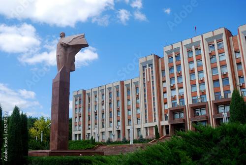 Lenin Statue, Tyraspol, Transnistria, Moldova