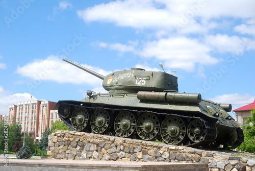 Tank, Tyraspol, Transnistria, Moldova
