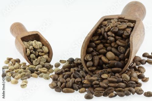 Wall Murals Coffee beans grains de café