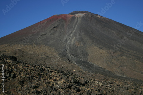 Tongariro crossing New Zealand Canvas Print