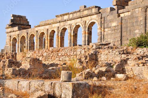 Photo Stands Morocco Rovine romane a Volubilis - Marocco