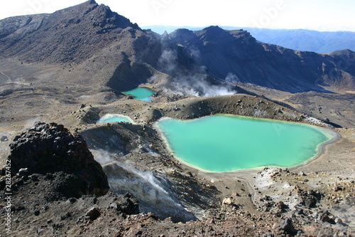 Photo Tongariro crossing New Zealand