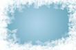 canvas print picture - natürlich gewachsene Eiskristalle