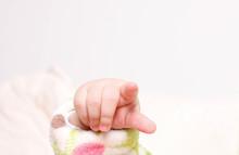 Babyhandzeichen