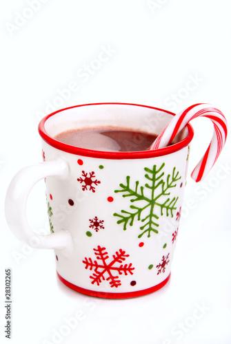 Fotografie, Obraz  Christmas hot cocoa beverage