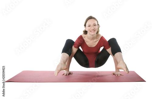 Fotografering  Exercising woman
