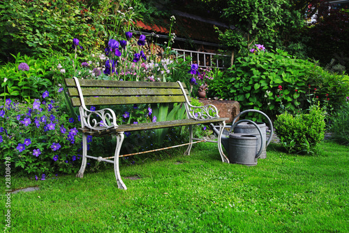 Awesome Historic Garden Bench Germany Buy This Stock Photo And Ncnpc Chair Design For Home Ncnpcorg