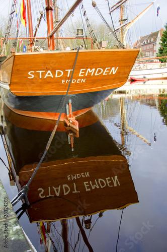 Fotografie, Obraz Hafen in Emden - Nordsee