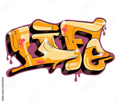 projekt-tekstu-wektor-graffiti