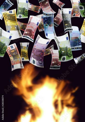 Valokuva  Euroscheine