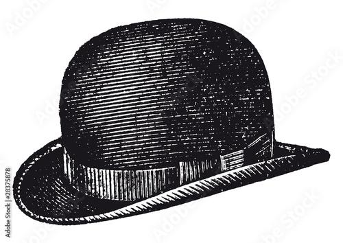 Obraz chapeau melon - fototapety do salonu