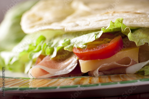 Recess Fitting Snack Italian Piadina Romagnola