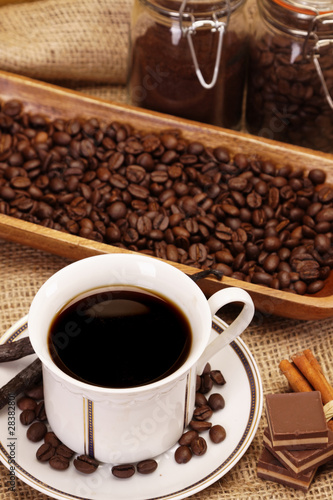 Fototapety, obrazy: Hot coffee