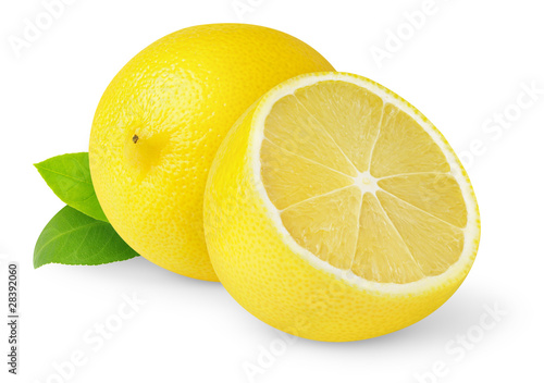 Fotografía  Isolated lemons