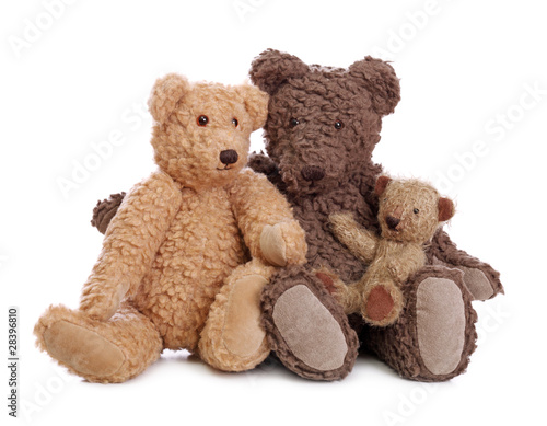 Fotografía Family of teddy bears