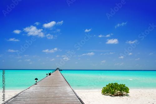 Photo Jetty in the Maldives