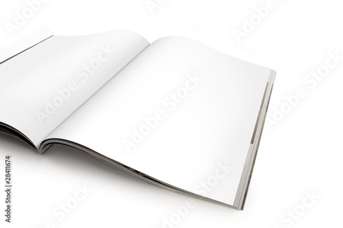 Photographie  Tartinade de magazines vierges - Page droite