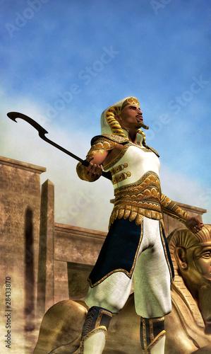 Obraz na płótnie egyptian pharaoh
