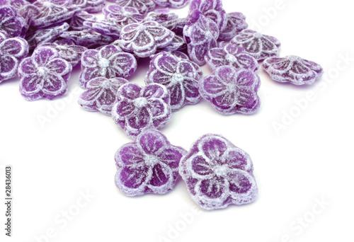 Poster Confiserie Bonbons à la violette