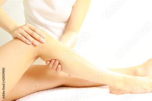Photo foot massage
