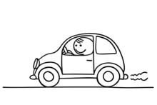 Figur Im Auto