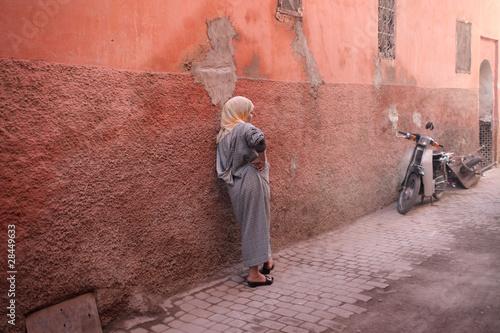 Poster Marokko Morocco