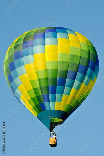 In de dag Ballon Hot Air Balloon