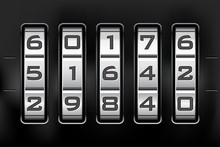 Combination Lock - Number Code...