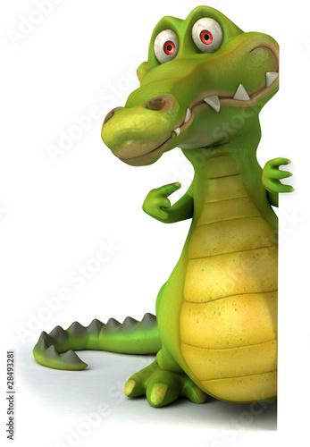 Fotografie, Obraz  Crocodile
