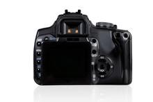 DSLR Camera - Back View