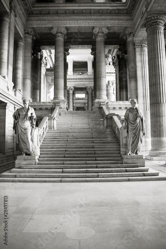 Obraz na płótnie Brussels - Palace of Justice